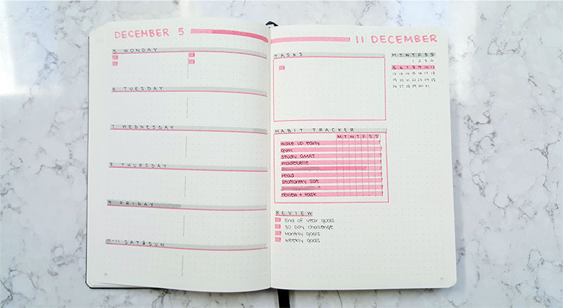 Planner Daily Layout